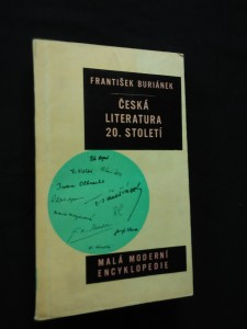 náhled knihy - Česká literatura 20. století (Obr)