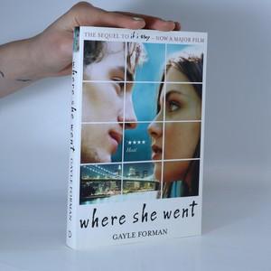 náhled knihy - Where she went