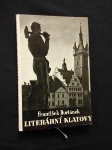 náhled knihy - Literární Klatovy (Ocpl, 132 s., 12 s. obr příl.)