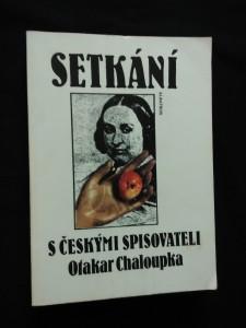 Setkání s českými spisovateli (Obr, 256 s.)