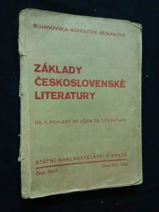 náhled knihy - Základy československé literatury II - Pohledy do dějin (Obr, 130 s.)