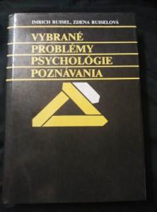 náhled knihy - Vybrané problémy psychológie poznávania (Ocpl, 310 s.)