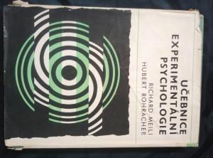 náhled knihy - Učebnice experimentální psychologie (A4, Ocpl, 372 s.)