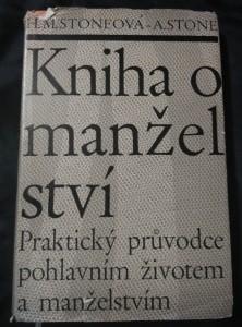 náhled knihy - Kniha o manželství - praktický prpůvodce pohlavním životem atd. (Ocpl, 180 s.)