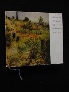 Vzpomínky obchodníka s obrazy (Ocpl, 244 s., 110 čb, 12 bar obr.)