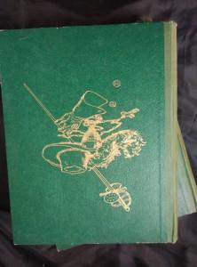 náhled knihy - Tři mušketýři (A4, 336 a 352 s., il. Jan Goth