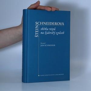 náhled knihy - Štein Schneiderova sbírka vtipů na židovský způsob