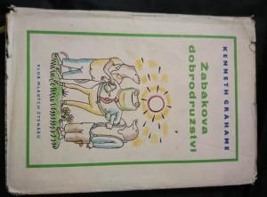 náhled knihy - Žabákova dobrodružství (A4, Oppl,148 s.,  il. J. Čapek)