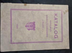 náhled knihy - Katalog městské galerie Augusta Švagrovského v Roudnici n. L. (Obr, 26 s.)