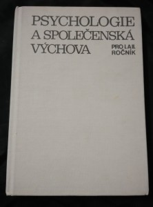 Psychologie a společenská výchova pro I. a II. roč. SOU číšník-servírka (Ocpl, 186 s.)