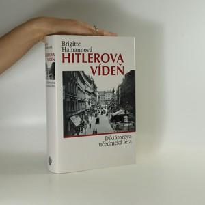 náhled knihy - Hitlerova Vídeň