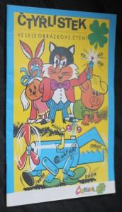 náhled knihy - Čtyřlístek : veselé obrázkové čtení