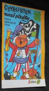 náhled knihy - Čtyřlístek mezi piráty : veselé obrázkové čtení