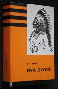 náhled knihy - Dva divoši : O dobrodružstvích dvou chlapců, kteří žili jako Indiáni, a o tom, co všechno se naučili