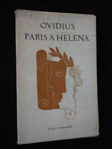 náhled knihy - Paris a Helena (Obr, 66 s., il. V. Polášek, typo M. Kaláb, přel.. Ivan Bureš)
