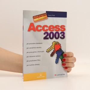 náhled knihy - Access 2003 : jak poznáme databáze, jak vytváříme tabulky, jak pracujeme s formuláři, jak tiskneme sestavy, jak používáme filtry, jak tvoříme dotazy