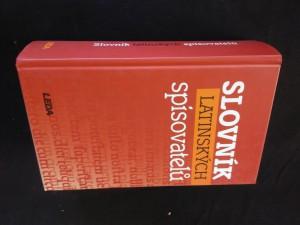 Slovník latinských spisovatelů - nový (672 s.)
