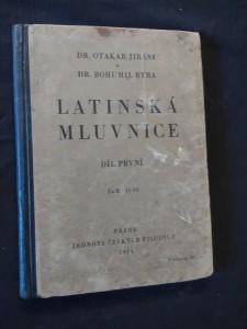 náhled knihy - Latinská mluvnice I (Oppl, 114 s.)