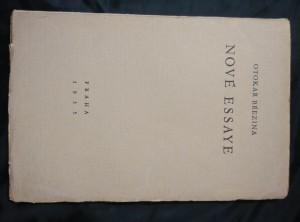náhled knihy - Nové essaye (A4, Obr.)