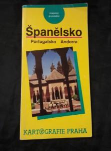 Španělsko, Portugalsko, Andorra - mapový průvodce (Obr, 80 s.)
