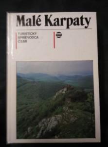 náhled knihy - Malé Karpaty - Turistický sprievodca 5 (lam, 336 s., mapa)