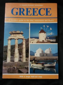 náhled knihy - Greece - A traveller´s guide to the sites, monuments and history (A4, 212 s., bar foto, mapky Řecko, Atény)