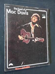 náhled knihy - The Best of Mac Davis (A4, Obr, 76 s., písně s notací)
