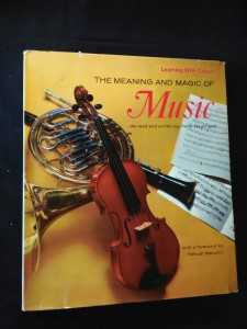náhled knihy - The Meaning and Magic of Music - forew. Y. Menuhin (A4, Ocpl, 94 s., foto, il. P.Morter)