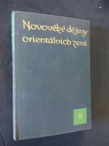 náhled knihy - Novověké dějiny orientálních zemí II (Ocpl, 440 s., mapy v příl.)