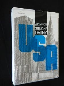 náhled knihy - Stručné dějiny USA (Ocpl, 528 str.)
