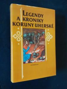 náhled knihy - Legendy a kroniky Koruny Uherské (Ocpl, 390 s.)