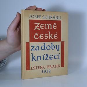 náhled knihy - Země české za doby knížecí (bez tiráže)