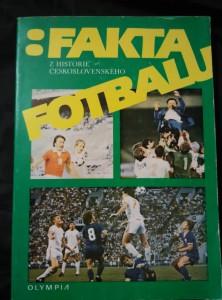 náhled knihy - Fakta z historie československého fotbalu (Obr)