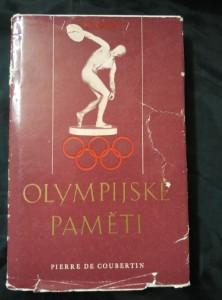náhled knihy - Olympijské paměti / Óda na sport (Ocpl, 200 s./ 20 s., fotopříl.)