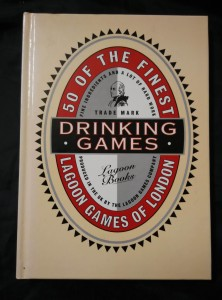 náhled knihy - Drinking Games (lam, 104 s., il. J. Melhuis)