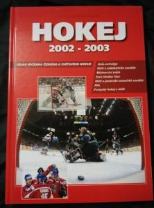 náhled knihy - Hokej 2002 - 2003 - Velká ročenka českého a svět. hokeje (A4, lam, 198 s., foto)