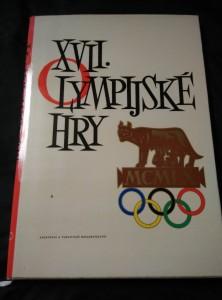 náhled knihy - XVII. Olympijské hry - Řím 1960 (A4, Ocpl, 178 s., foto)