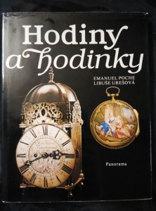 náhled knihy - Hodiny a hodinky (A4, Ocpl, 192 s, 89 bar a 13 čb repro, 12 kreseb)