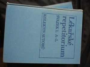 náhled knihy - Lékařské repetitorium I, II (A4, Ocpl, 1996 s.)