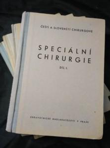 náhled knihy - Speciální chirurgie I.-V. (Oppl., 350 s. text a 84 obr.)