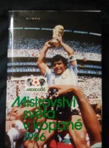 náhled knihy - Mistrovství světa v kopané 1986