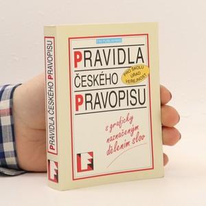 náhled knihy - Pravidla českého pravopisu