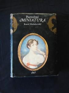 náhled knihy - Portrétní miniatura - historie, sběratelství, znalectví (Ocpl, 184 s., 80 s obr příl.)