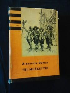 Tři mušketýři I (KOD 23, lam, 424  s., il. Maurice Leloir, přel. J. Janů)