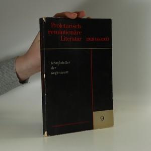 náhled knihy - Proletarisch-revolutioäre Literatur 1918 bis 1933