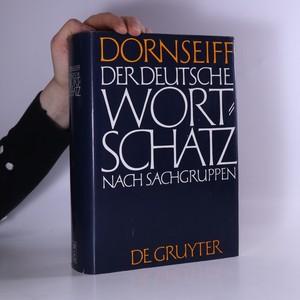 náhled knihy - Der deutsche Wortschatz nach Sachgruppen