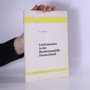 náhled knihy - Liedermacher in der Bundesrepublik Deutschland
