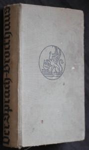 náhled knihy - Der sprach brockhaus