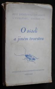 náhled knihy - O žóželi a jiném tvorstvu