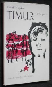 náhled knihy - Timur a jeho parta : mimočítanková četba pro školy všeobec. vzdělávací